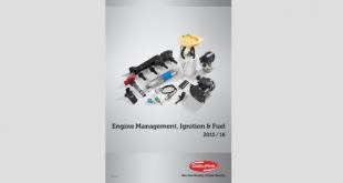 Delphi apresenta catálogo para componentes de motor