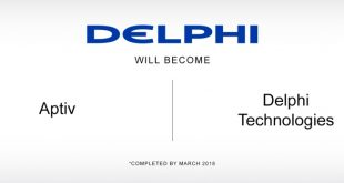 Aptiv e Delphi Technologies de acordo com a nova estratégia da Delphi