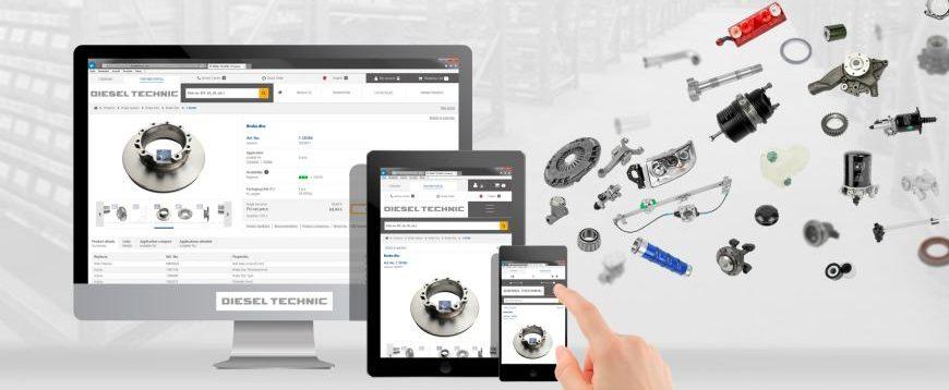 Partner Portal da Diesel Technic foi atualizado