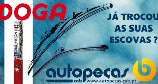 Autopeças Cab reforça gama de escovas Doga
