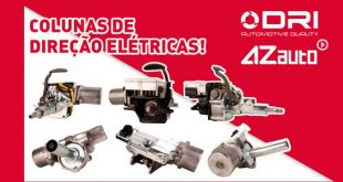 AZ Auto comercializa colunas de direção DRI