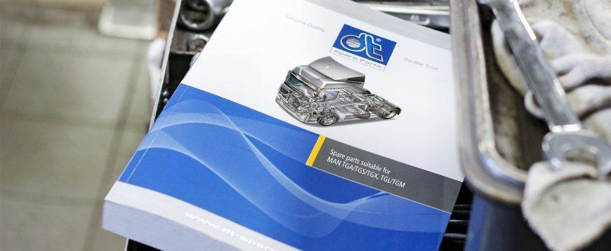 DT Spare Parts disponibiliza novo catálogo de peças para MAN