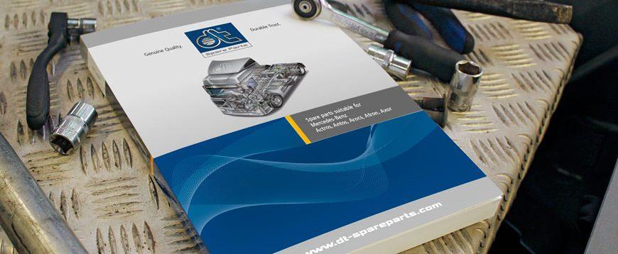 Novo catálogo DT Spare Parts para Mercedes Actros