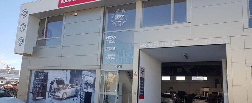 Segunda oficina TopCar Eduardo Rego abre em Barcelos