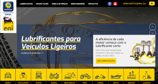 Eni Lubrificantes lança novo website