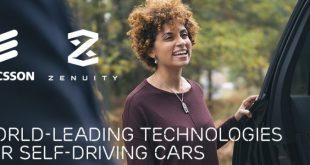 Ericsson, Zenuity e Autoliv: novos nomes para a assistência à condução