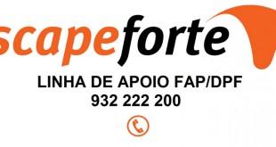Escape Forte cria linha de apoio gratuita para filtros de partículas