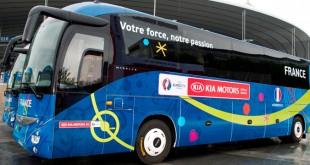 Continental desenvolve pneu específico para autocarros das seleções do Euro 2016