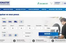 Euromaster disponibiliza loja online de venda de pneus