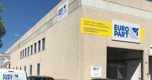 Europart abre quinta filial em Portugal