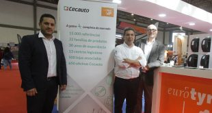 Eurotyre distribui produtos Cecauto em Portugal