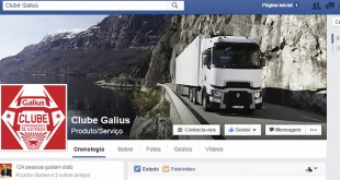 Galius junta fãs dos camiões Renault no Facebook