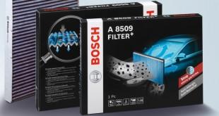 Bosch lança novo filtro de habitáculo Filter+