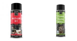 FIXA3 disponibiliza produtos de limpeza de travões e lubrificação