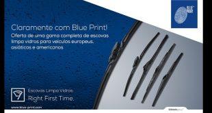 Blue Print lança nova gama de escovas limpa vidros