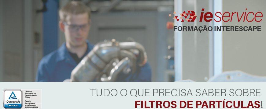Interescape dá início à formação sobre Filtros de Partículas
