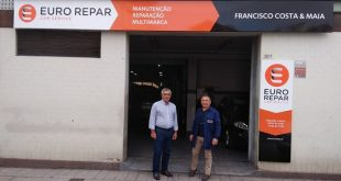 Euro Repar Car Service tem nova oficina no Porto