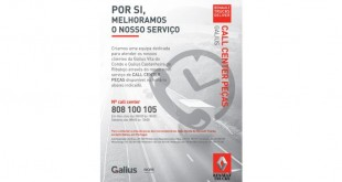 Call Center de peças na Galius / Renault Trucks