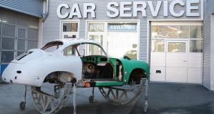 Glasurit apresenta Porsche 356 parcialmente restaurado