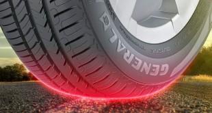General Tire inclui avisadores de desgaste nos pneus