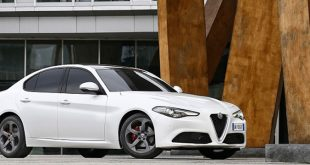 Goodyear Eagle e EffcientGrip  como equipamento do Giulia