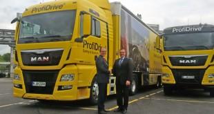 Goodyear é fornecedor exclusivo de pneus da MAN ProfiDrive