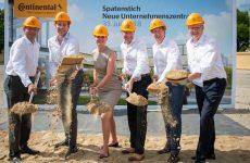 Continental inicia construção da nova sede em Hanôver
