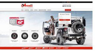 Novo website do Grupo Andrés