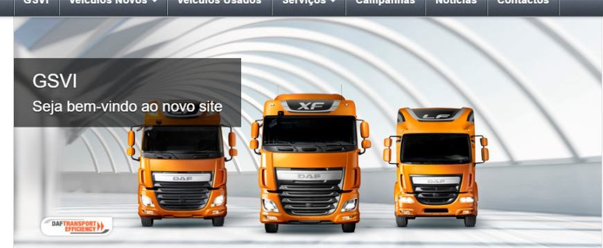 GSVI com nova imagem na internet