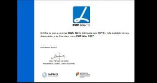 GSVI recebe estatuto PME Líder