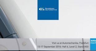 Guardian Glass reforça vidro auto na Automechanika