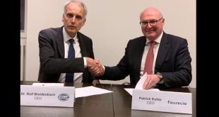 Hella e Faurecia realizam acordo de cooperação