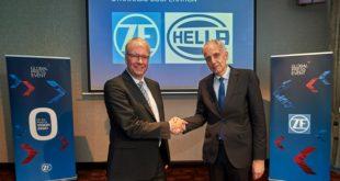 Hella e ZF formam aliança estratégica