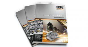 HEPU lança novo catálogo de bombas de água