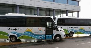 CaetanoBus entrega 2 miniautocarros ao município de Albufeira