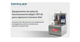 Iberequipe apresenta Delphi YDT-35