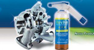 Iberoturbo distribui Revive, produto para limpeza de turbos