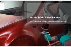 Solução Glasurit para repintura Mazda (Com vídeo)
