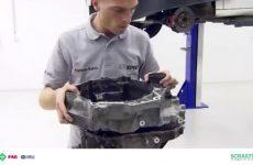 Manutenção da transmissão com INA GearBOX (video técnico)
