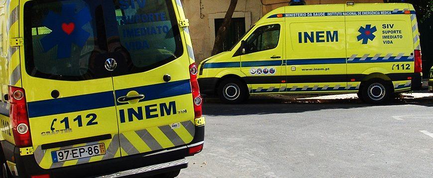 INEM gastou três milhões de euros em reparação de viaturas até Agosto
