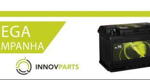 Baterias Innovparts em campanha na RedeInnov