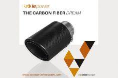 Iepower com novas ponteiras em fibra de carbono