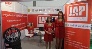 JAP Peças divulga produtos e serviços na Expomecânica