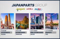 Japanparts marca presença nas principais feiras do aftermarket