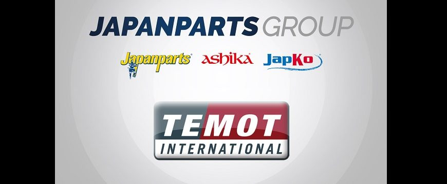 Japanparts Group e Temot International anunciam parceria