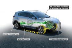 Kia vai lançar Sportage com motorização mild-hybrid diesel de 48V