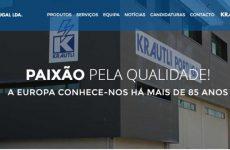 Krautli apresenta novo website