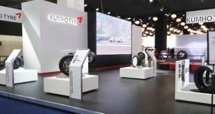 Kumho apresenta pneu 25% mais leve para elétricos
