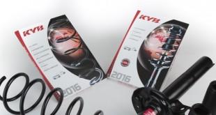 KYB lança catálogo de amortecedores e molas