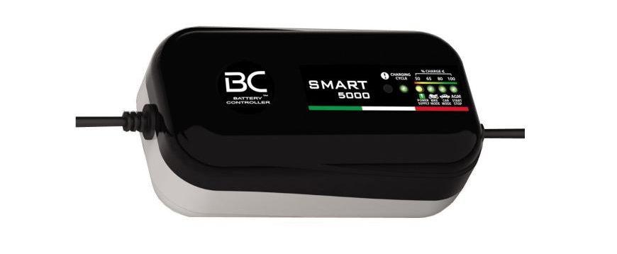 Novos carregadores de bateria BC com 8 ciclos de recuperação de cargas